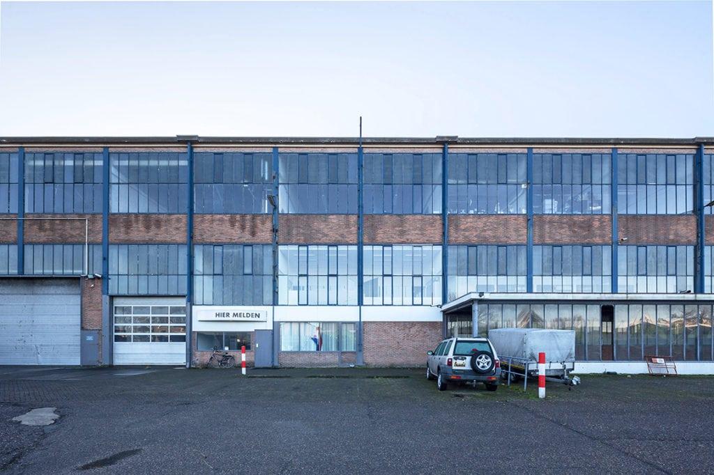 voorzijde werkspoorfabriek herbestemming