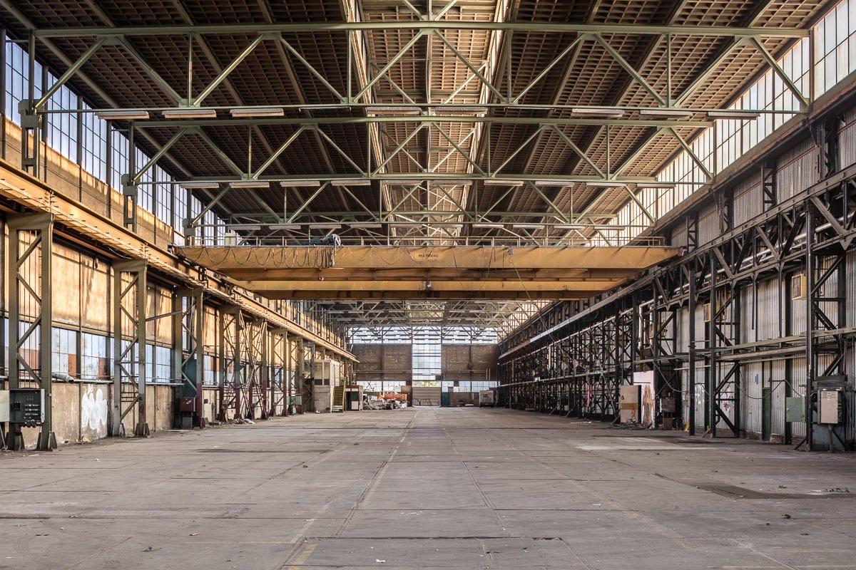 werkspoorfabriek voor herbestemming