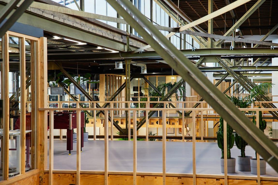 werkspoorfabriek staalconstructie
