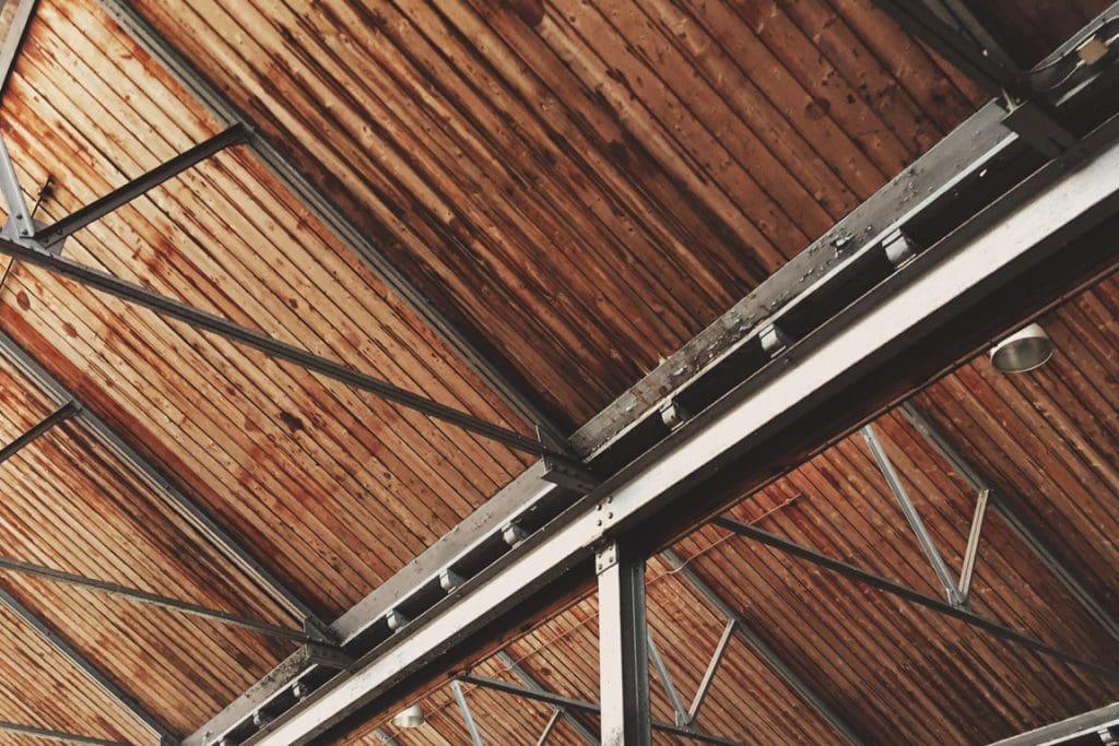 herbestemming industrieel erfgoed plafond