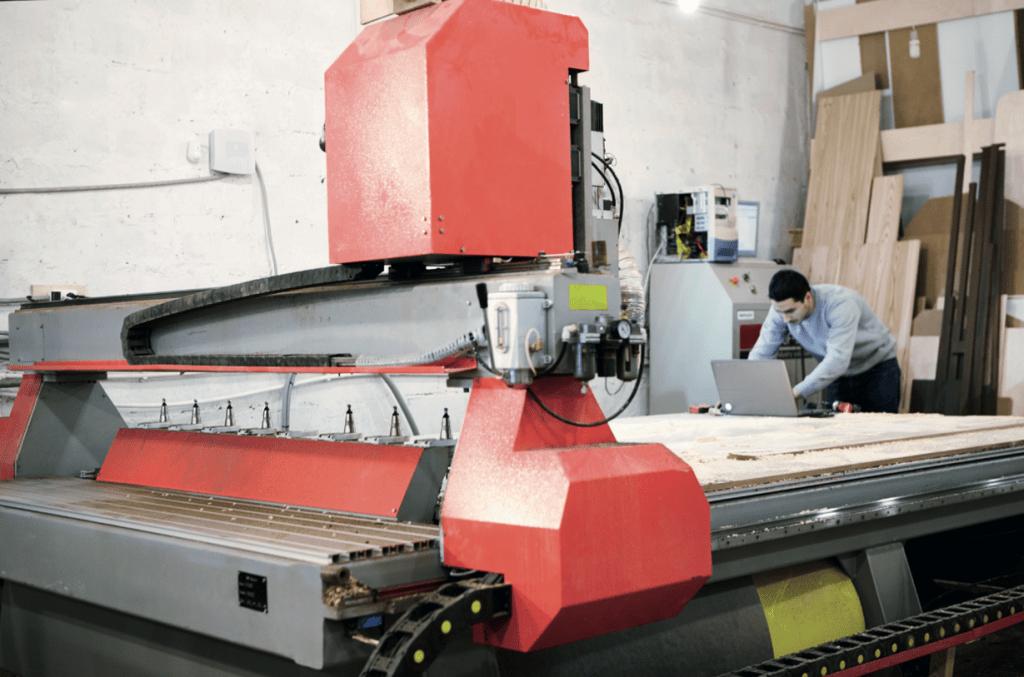 CNC houtbewerking